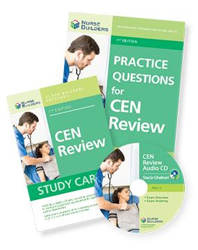 Adult CEN Exam Study Aids