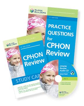 CPHON Exam Study Aids